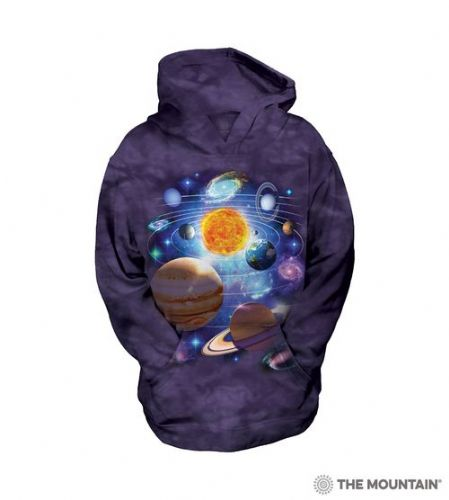 Kids Hoodies - You Are Here Space - The Mountain®